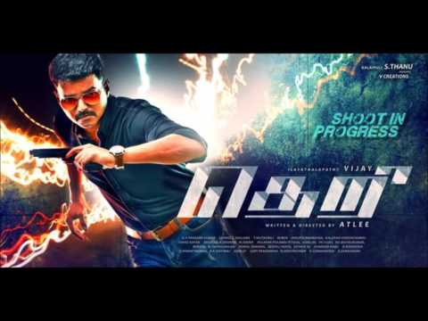 Vijay 59 THERI stills - First look posters latest OFFICIAL!!!