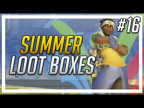 Overwatch Loot Box Opening – Awesome Luck! Summer Games – (#16)