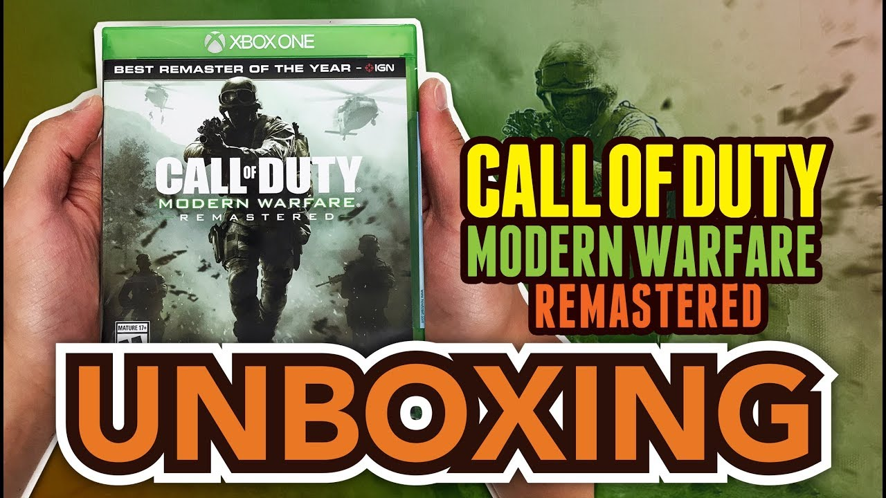 Call of duty modern warfare 2 ign rating - Call Of Duty Modern Warfare Remastered Xbox One Unboxing