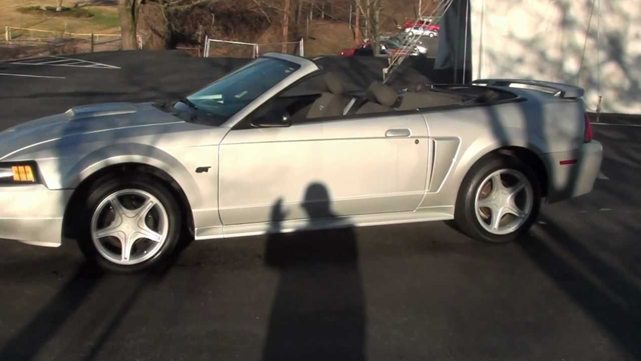 for sale 2003 ford mustang gt convertible 1 owner stk 20414a youtube. Black Bedroom Furniture Sets. Home Design Ideas
