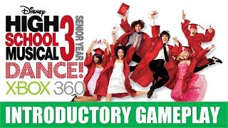 High School Musical 3: Senior Year Dance Introductory Gameplay
