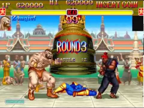 Super Street Fighter II Turbo (Arcade) Playthrough as Zangief