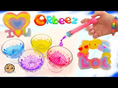 Orbeez Crush N Design Set Hearts & Happiness Maker With Frozen Princess Anna & Kristoff