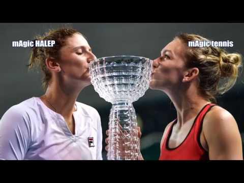 Simona HALEP / BEGU (ROU) vs. Katerina Siniakova/ Barbora Krejcikova (CZE)     2018 Shenzhen Open