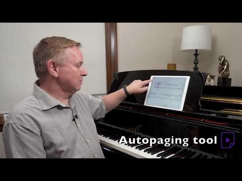 Christopher Norton - 'Connections for Piano' on Tido Music - automatic page turning!