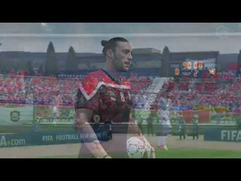 fifa17 ultimate team gameplay#2!!  Andy Carroll is on fire