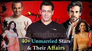 Unmarried Bollywood Actors - 15 Unmarried Bollywood Celebrities Over 40 | Affairs & Girlfriends |
