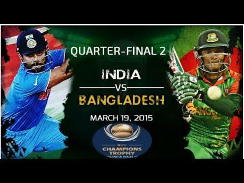 INDIA VS BANGLADESH SEMI FINAL 2 LIVE SCORE STREAM Live Cricket Score, ICC Champions Trophy, 2017