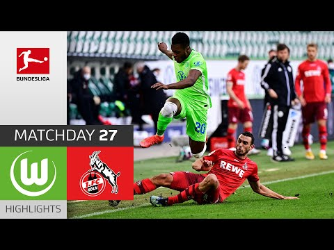 Wolfsburg Köln Goals And Highlights
