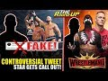 Superstar CALLED OUT FOR CONTROVERSIAL TWEET, Reason Finn Balor LOST THE TITLE, WM Plans! - Round Up