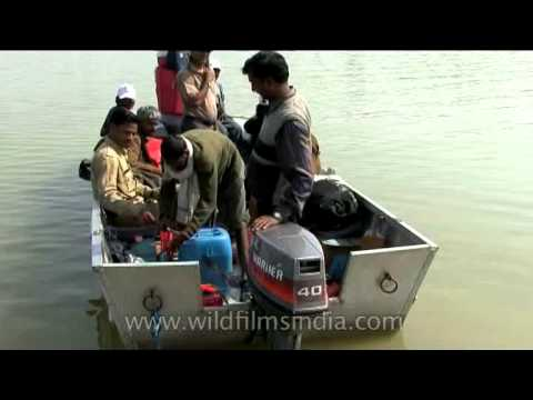 Steam boat carrying passengers