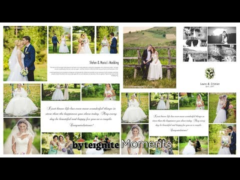 Wedding Album Design Software How To Design A Professional Photo Album Moments Designer Youtube