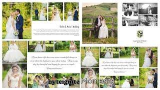 Wedding Album Design Software: How to design a professional photo album. Moments Designer.