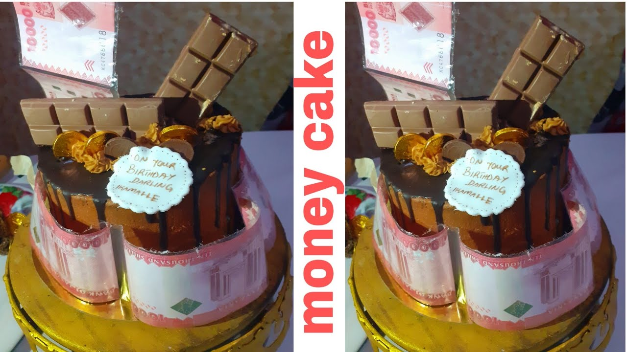 Jinsi Ya kupamba Money Cake/Money Cake Tutorial