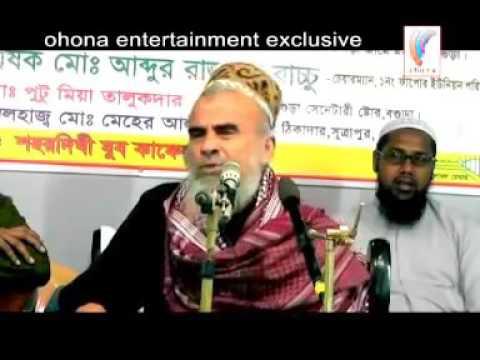 Sayed Nazrul Islam waz mahfil   Part 01