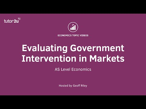Evaluating Government Intervention