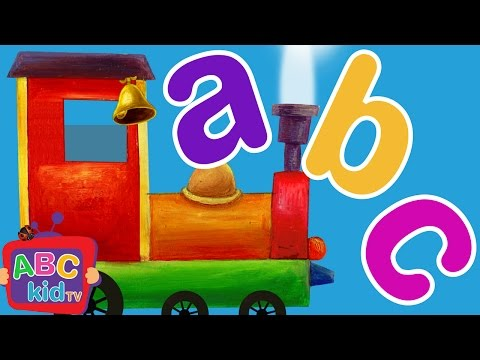ABC Train Song | CoCoMelon Nursery Rhymes & Kids Songs