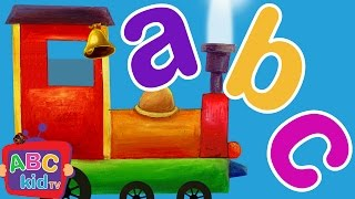 ABC Song Train l abcd 2 songs I Animal Alphabet Song