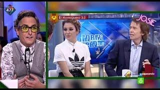 Josie comenta el estilismo de Blanca Suárez en El Hormiguero