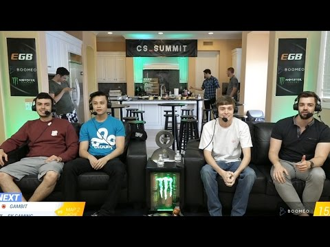 TARIK, STEWIE2K, BRAX AND DAN CAST A CSGO MATCH (Beyond The Summit)