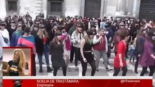 NOELIA TRASTÁMARA: Es un escándalo que la prensa oculte la verdad de la violencia sobre las mujeres