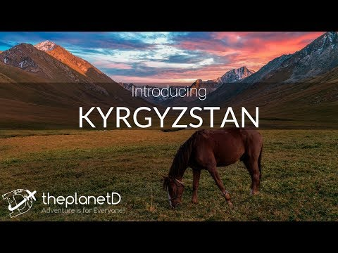 Travel to Kyrgyzstan in 4K DJI Mavic Pro Drone