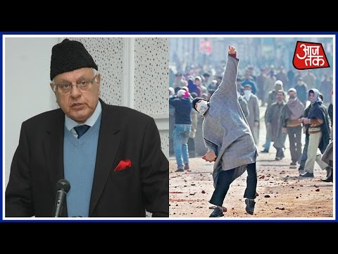 Kashmir's Stone Pelters Are Just Fighting For Nation, Says Farooq Abdullah
