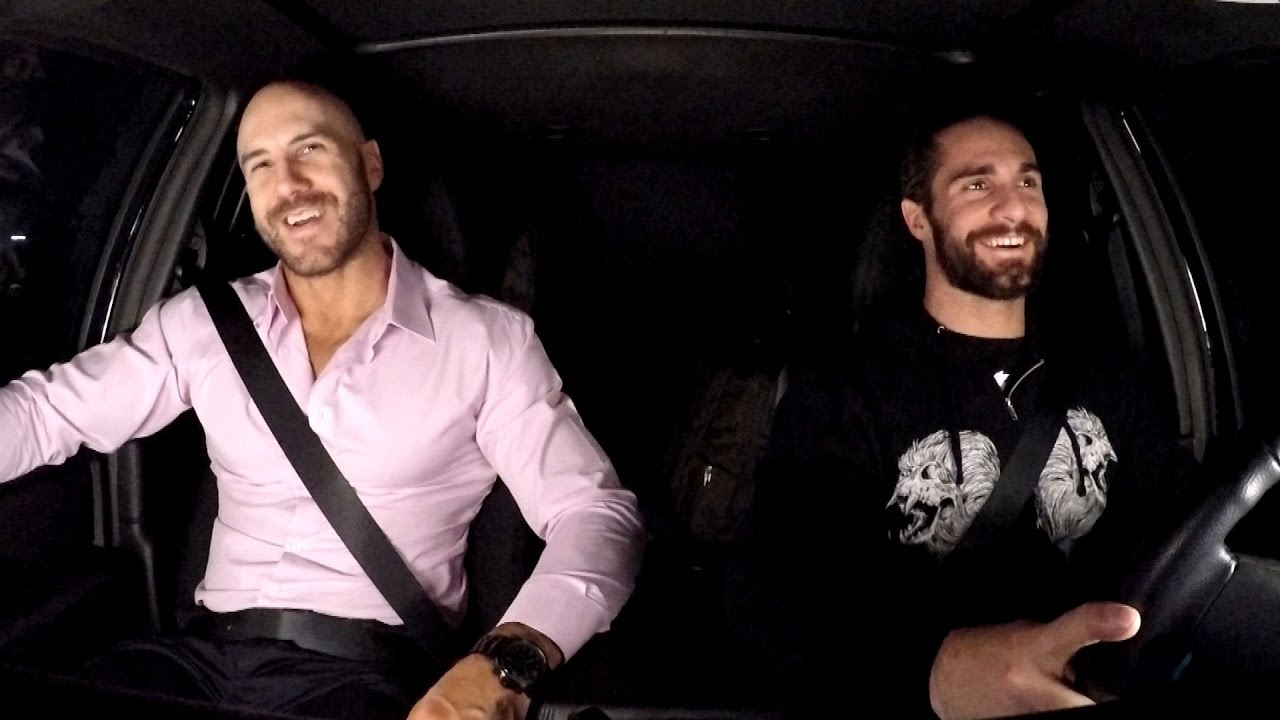 Cesaro shares an embarrassing road story with Seth Rollins on WWE Ride  Along (WWE Network Exclusive) - YouTube