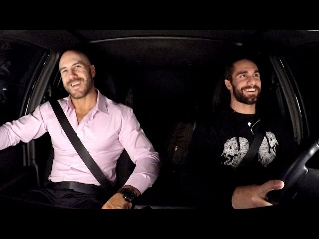 Cesaro shares an embarrassing road story with Seth Rollins on WWE Ride Along (WWE Network Exclusive)