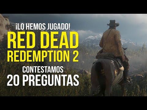 RED DEAD REDEMPTION 2, lo hemos jugado y respondemos 20 PREGUNTAS thumbnail