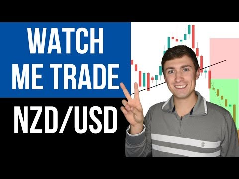 Forex Trading Live: How I Made an Easy $299.00 Trading NZD/USD 📈💰