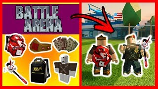 FREE ALL THESE OBJECTS FROM BATTLE ARENA *EVENT* - ROBLOX