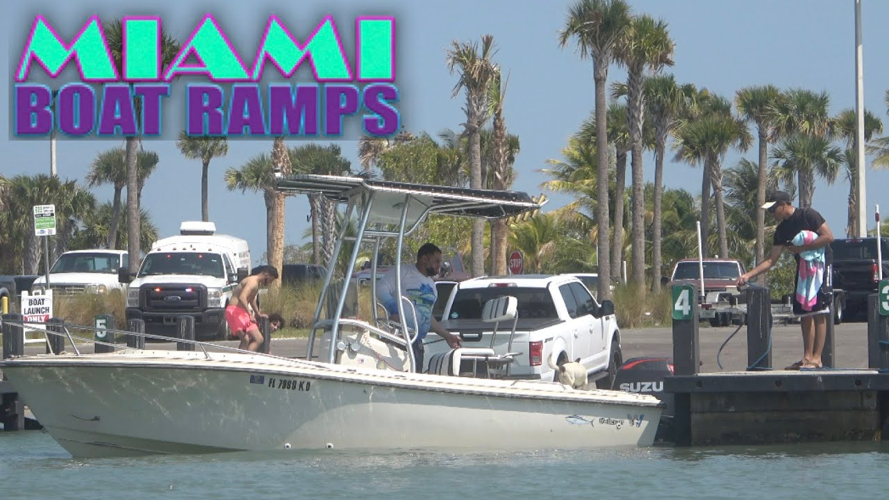 Bro Your Outboard is Hitting the Dock!!   Miami Boat Ramps   79th