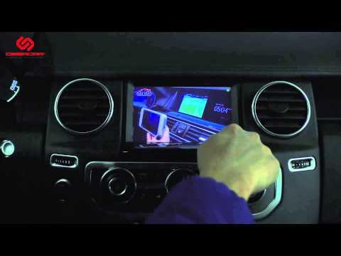 Land Rover Discovery 4: видеоинтерфейс KiberLink и навигационный блок VI-NAVI 212
