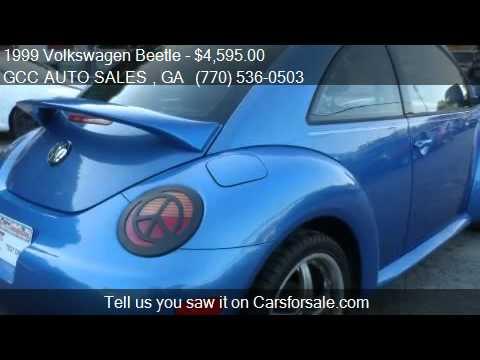 1999 Volkswagen Beetle GLS 2.0 for sale in Gainesville, GA 3