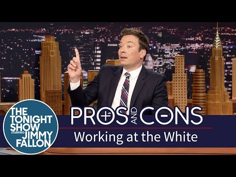 Pros and Cons: Working at the White House