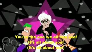 Phineas and Ferb-Fabulous Lyrics(HD)
