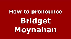 How to pronounce Bridget Moynahan (American English/US)  - PronounceNames.com