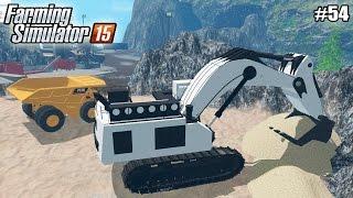 Farming Simulator 15 моды: Карта Bjorn Holm Mining (54 серия) (1080р)