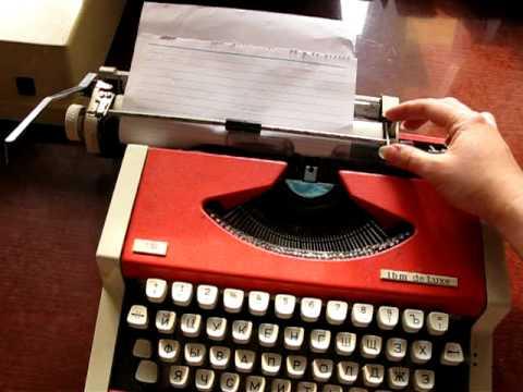 Лента для печатной машинки своими руками
