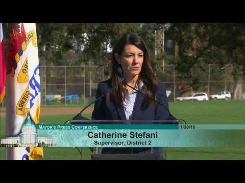 Annoucement of Catherine Stefani as District 2 Supervisor
