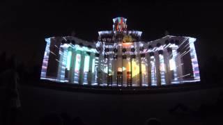 Круг Света - световое шоу в Москве на ВДНХ. Анимации, проекторы