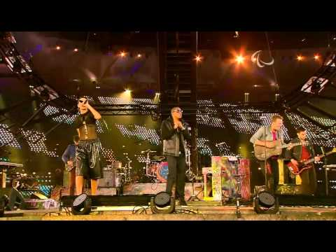 Coldplay - Run This Town (feat.Jay-Z & Rihanna)-13/16- Live @ Paralympic Games Closing Ceremony 2012