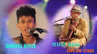 Daniel kifle and Tesfay Wata Eritrean Music live on stage April 4,2020