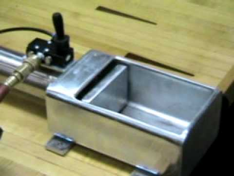 Two Can Crusher Air Pneumatic Cylinder Youtube