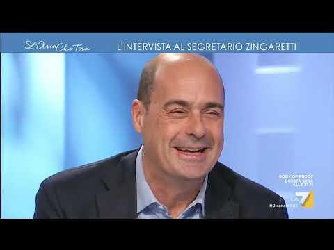 Nicola Zingaretti (PD): 'Mio fratello Luca? Si preoccupa per me, mi chiama tutte le sere'