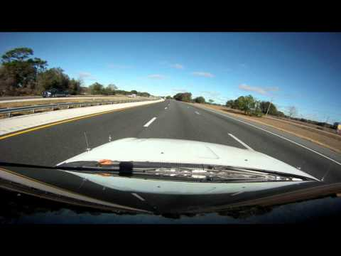 Tampa to Gainesville Florida GoPro Time Lapse