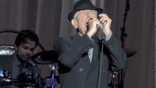Leonard Cohen, Hallelujah, Dublin 14-09-2012
