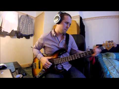 Michael Jackson - Get On the Floor --Bass Cover-- Played by Gav