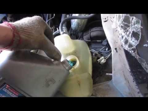 Как полностью слить охлаждающую жидкость ваз 2110